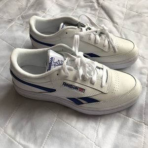 New REEBOK Size 7 Classic White Sneakers